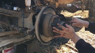 The Axle fix clips will show full video when I have truck back together