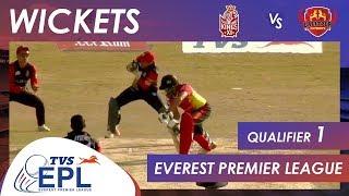 Wickets | Kathmandu Kings XI vs Lalitpur Patriots | Qualifier 1 | EPL 2018