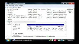 Computer Information : How to Partition a Hard Drive Without Data Loss