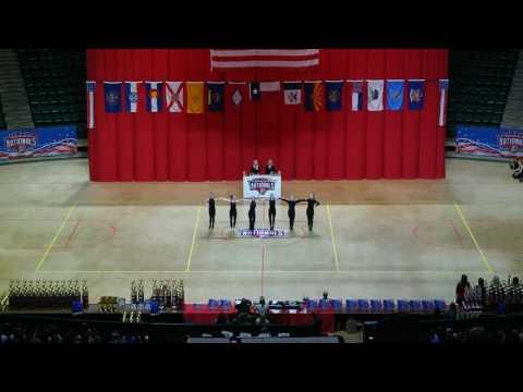 Miss American High Kick Junior Winner Madisyn Green from Ponca City High School Po Hi Steppers