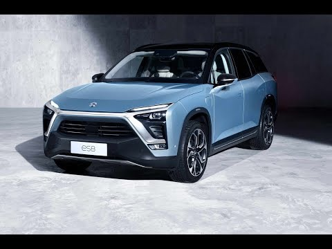 2018 Nio ES8 Electric SUV Crossover  Revealed With Battery Swapping