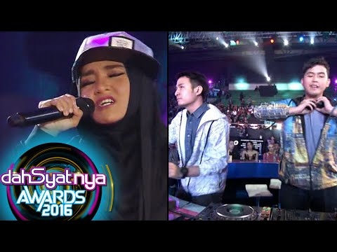 Fatin Feat Midnight Quickie 'Jangan Kau Bohong' [Dahsyat Awards 2016] [25 Jan 2016]