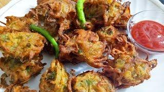 Crispy Onion Pakoda recipe   ख़ास बातों को ध्यान में रखकर बनाएं क्रिस्पी पियाज के पकोड़े