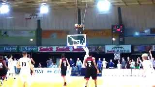 "Kai Behrmann beats the ""Buzzer"" at the Pro A Game in Leverkusen"