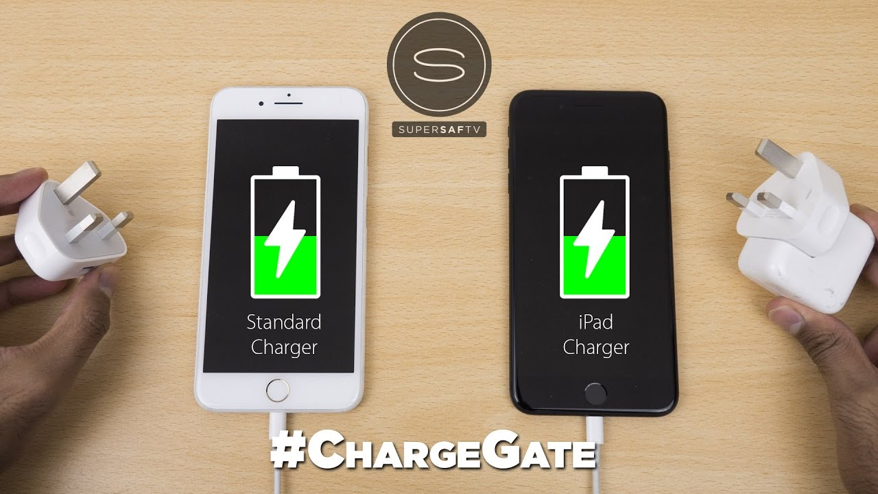 Iphone 7 Plus Battery Charging Test Vs Ipad Charger Chargegate Youtube