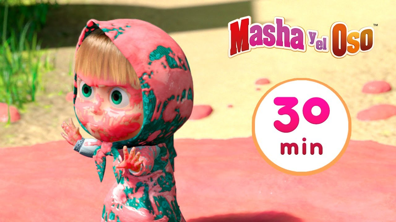 Masha y el Oso 🐻👧 Día de lavado👗💦Сolección 28 🎬 30 min 🥳 Dibujos animados
