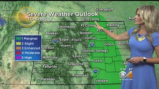 Few Severe Storms Friday