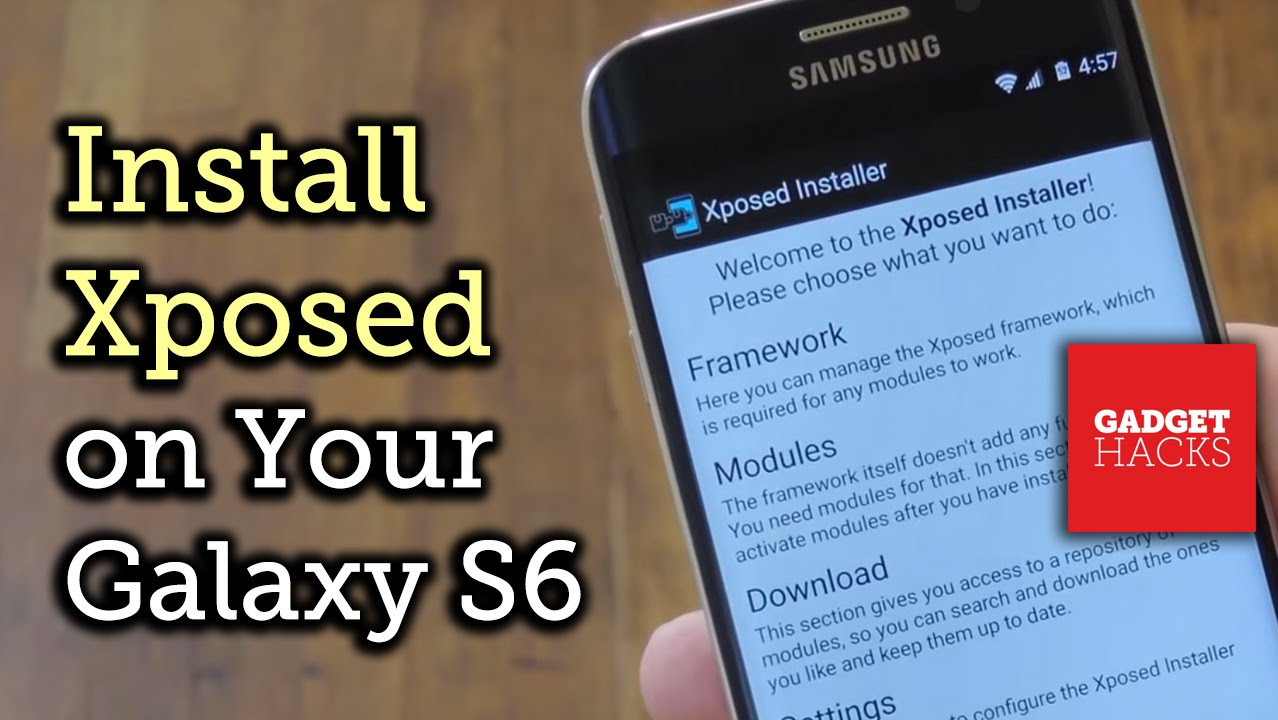 How to Install the Xposed Framework on Your Samsung Galaxy