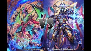 [MeeKhao] Cardfight Vanguard - Hole 185 Shadow Paladin (Luard) VS Nubatama (Dominate)