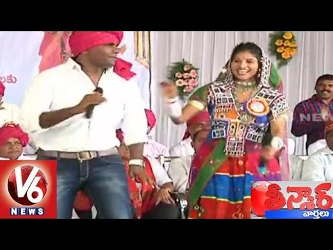 Banjara Mela | Banjara Grand Convention in Warangal | Teenmaar News | V6 News