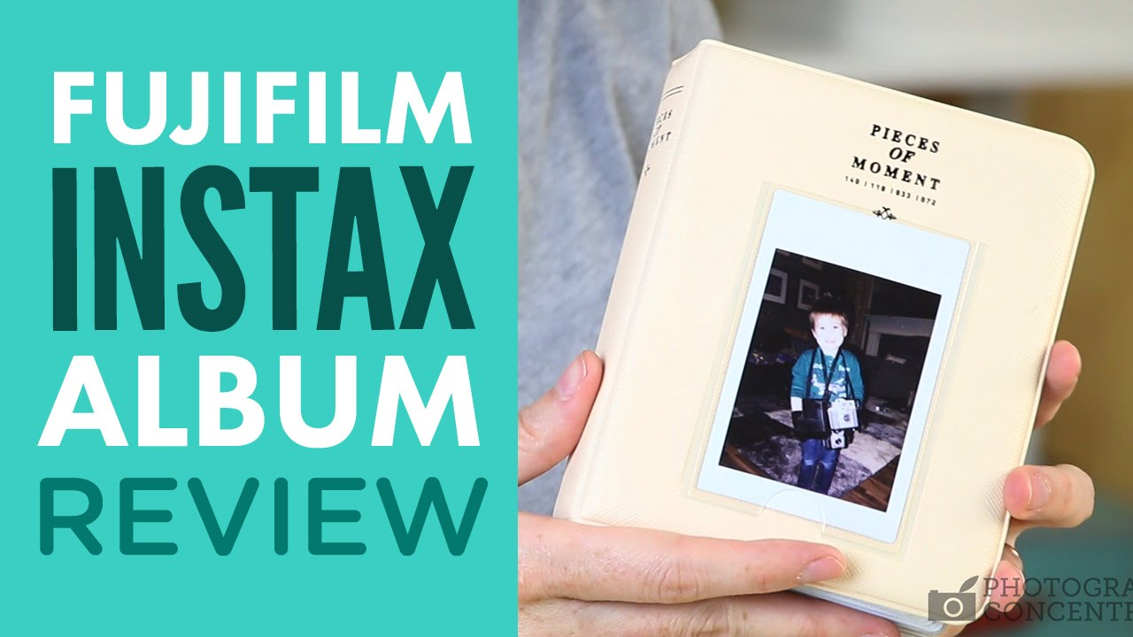 Fuji Instax Mini Photo Album Review Pieces Of Moment Youtube