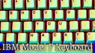 Should You Hack Your IBM Model F Keyboard with Floss and a Drill?