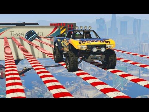 SUPER PARKOUR 100% IMPOSIBLE!! - CARRERA GTA V ONLINE - GTA 5 ONLINE