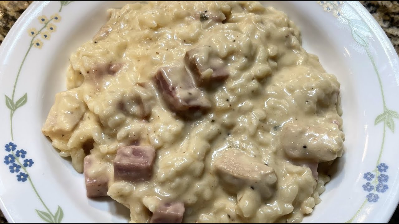 Instant Pot Chicken Cordon Bleu Risotto