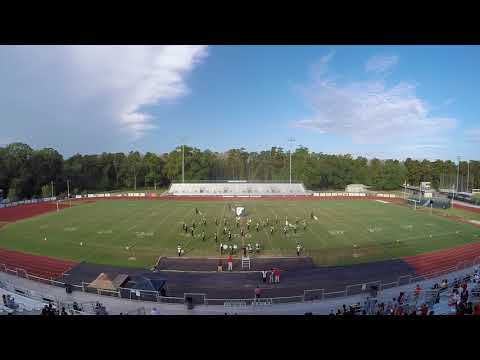 Brusly High School Marching Band @ the 2017 Dutchtown Invitational
