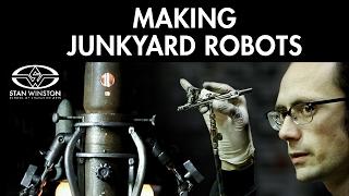Junkyard Robots: Choosing Robot Parts - FREE CHAPTER