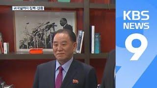 '은둔의 특사' 北 김영철…귀국길까지 침묵·신중 행보 / KBS뉴스(News)