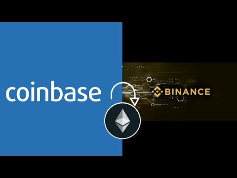 How to transfer etherium from coinbase to binance