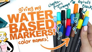 NAMING MY MARKERS? | & Capturing Emotion & Feeling in Art | Mystery Art Supplies | Paletteful Packs