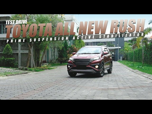 Test Drive Toyota All New Rush dan Innova By Kilat Auto Design