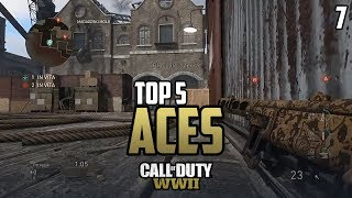 COD WWII: TOP 5 ACES OF THE WEEK #7 - Call of Duty World War 2