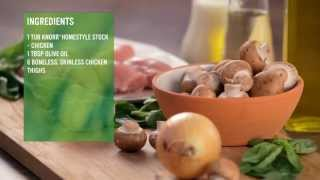 Chicken In White Wine & Cream Sauce | Knorr® Chef Einav