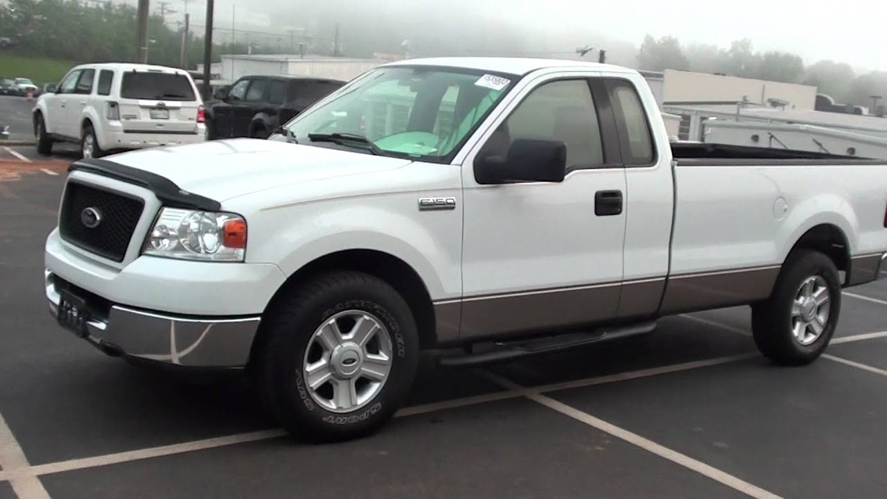 FOR SALE 2004 FORD F 150 XLT REG CAB LONG BED STK