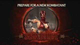 Mortal Kombat - Skarlet Trailer