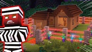 BU EVE HIRSIZLAR BİLE GİREMEZ - Minecraft