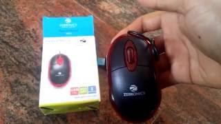 Zebronics MS M05 Plus Optical USB Mouse Unboxing amp Demo