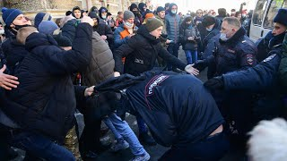 Thousands across Russia rally for jailed opposition leader Alexei Navalny