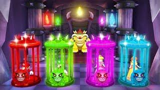 Mario Party 5 MiniGames - Mario Vs Luigi Vs Daisy Vs Peach (Master Cpu)