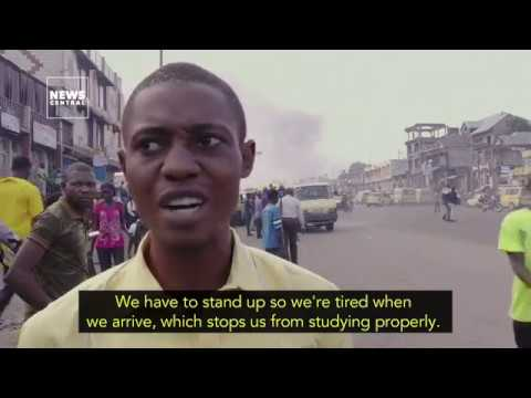 Kinshasa: Commuting hell in DR Congo's capital