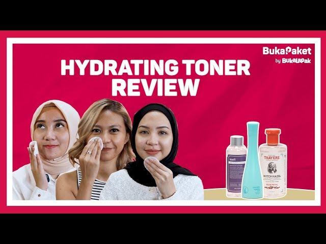 Review Hydrating Toner Terbaik (Wardah VS Thayers VS Klairs)   BukaPaket for Her