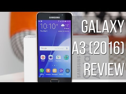 Samsung Galaxy A3 (2016) Review