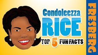 Black History: Condoleezza Rice Top 10 Fun Facts | Educational Videos for Students
