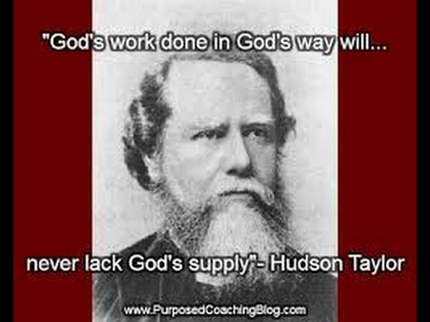 Hudson Taylor film - founder of the China Inland Mission