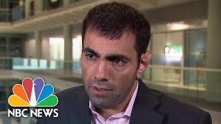 Political Satirist Attacked In London For Mocking Saudi Royals | NBC News