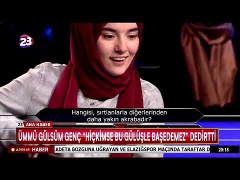 """ÜMMÜ GÜLSÜM GENÇ """"HİÇKİMSE BU GÜLÜŞLE BAŞEDEMEZ"""" DEDİRTTİ"""