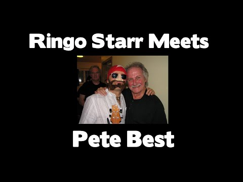 Ringo Starr Meets Pete Best