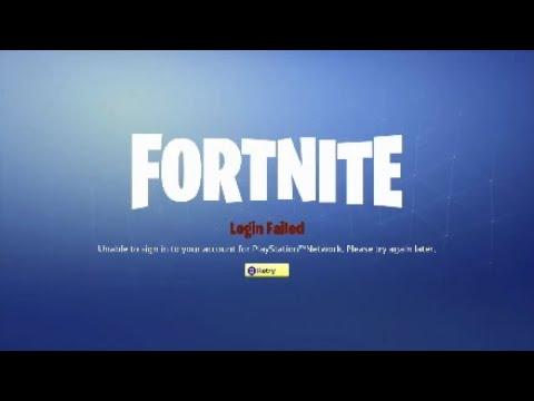 *2019*FortNite Servers Not Responding/PlayStation Network Error *FIX  METHOD*(check the description)