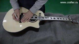 �������� ���� Как делают корейские гитары Crafter. Производство гитар на фабрике. ������