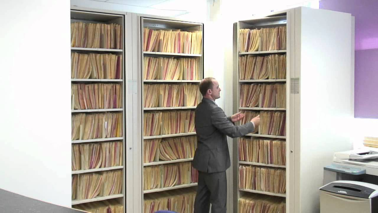 Link 51 Rotary Filing Systems - Save Space in your Office - YouTube