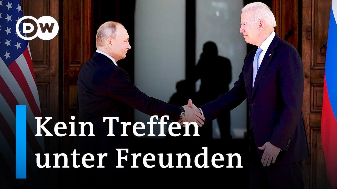 Nach dem Treffen von Biden und Putin in Genf   DW Nachrichten