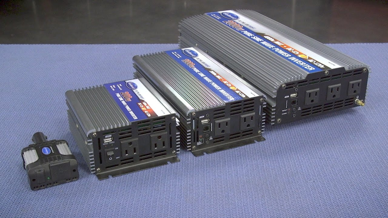 Power Inverter For Truck >> Pure Sine Wave Power Inverter Portable Power For Your Car Or Truck