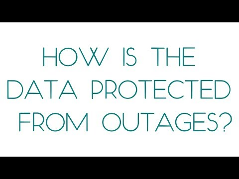 SkyFlok: HOW IS THE DATA PROTECTED FROM OUTAGES?