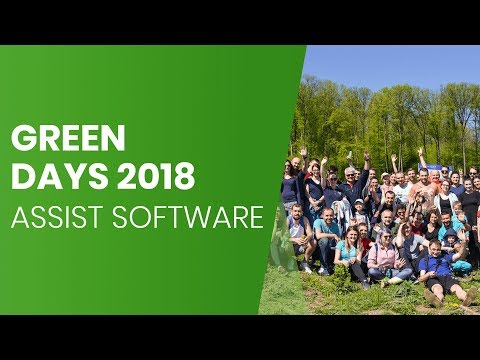 Green Days 2018 - ASSIST Software - Photo Slideshow Acțiune de împădurire