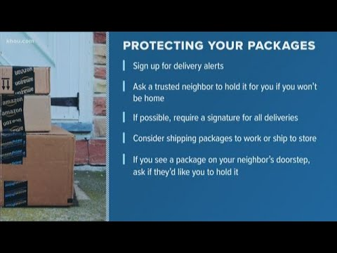 Spring Branch woman says packages for at-risk kids were stolen from her porch