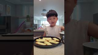 슬기로운 방학생활 마늘빵 만들기 2편!!