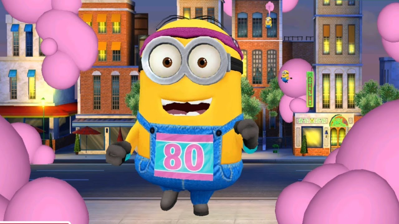 Despicable Me 2 – Minion Rush : Upgrading Jogger Minion Costume ! Fun Games
